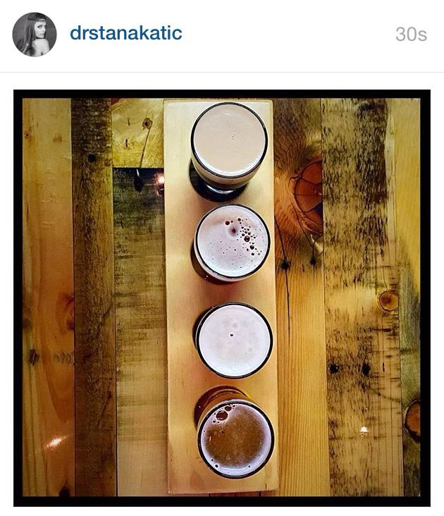 """When your friends own a brewery...Artisan beers by San  Fernando Brewing Company. Tasting Tray #InTheCityILive Tell 'em I sent you. """