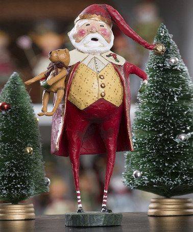 Take a look at this Christmas Cheer Santa Figurine by ESC and Company, Inc. on #zulily today!