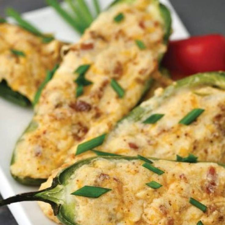 Open-Faced Jalapeño Poppers Recipe by George Stella / StellaStyle.com