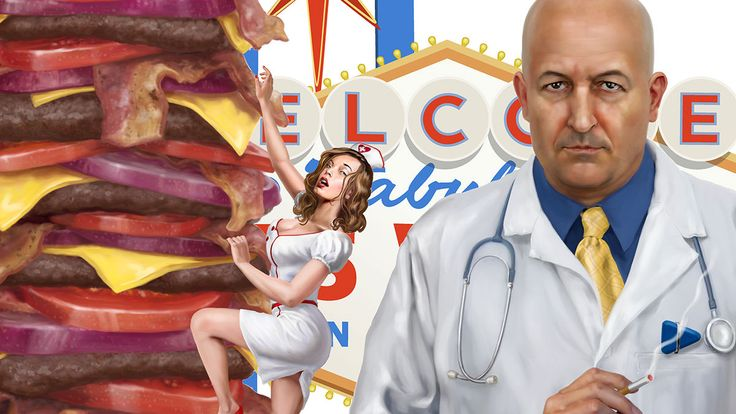 The Heart ATTACK Grill in Las Vagas!