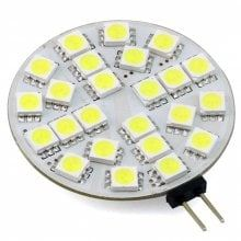 3W G4 LED Round Bulb 12 - 24V AC / DC 30 LEDs 5050 280Lm