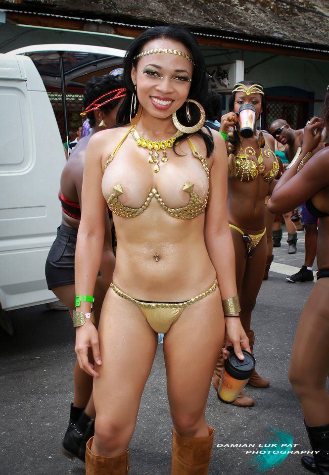 Naked trinidadian women