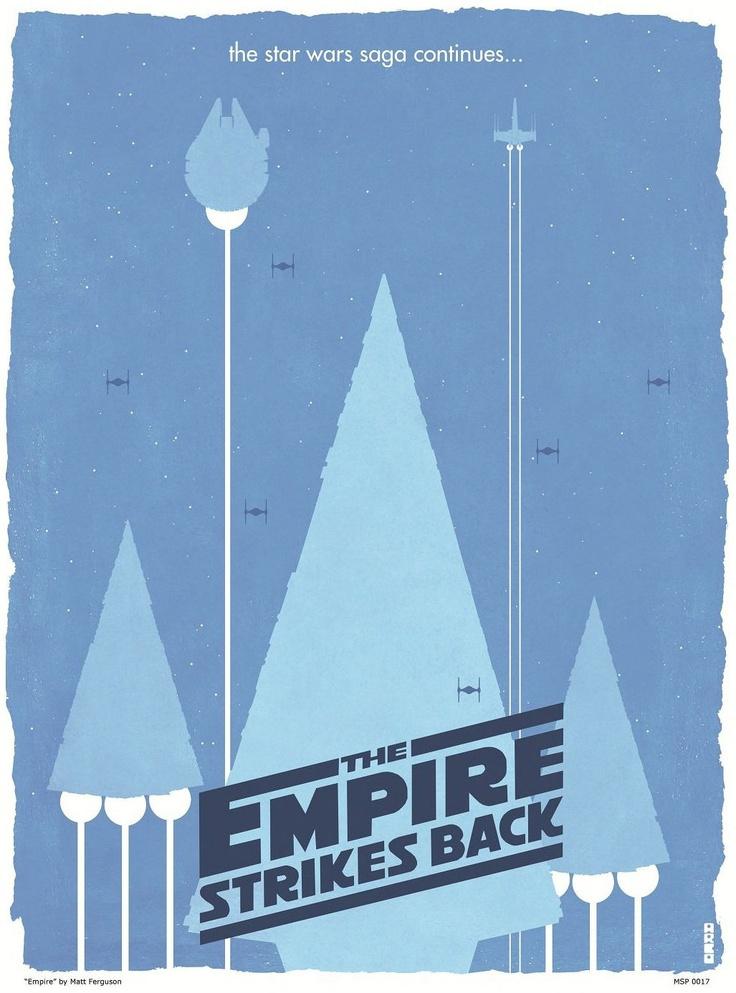 """Empire"" | By: Matt Ferguson, via GeekTyrant (#empirestrikesback #starwars)"