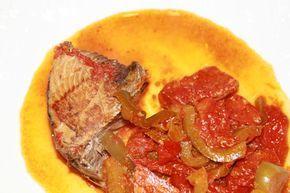 thon rouge frais à la catalane