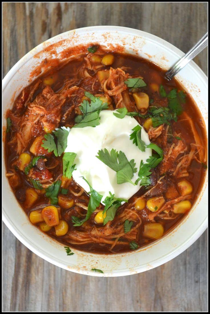 SOUPer saturdays - southwestern chicken stew