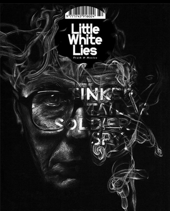 24 best book covers posters images on pinterest editorial design tinker tailor soldier spy by john le carre little white lies francesca hotchin fandeluxe Gallery