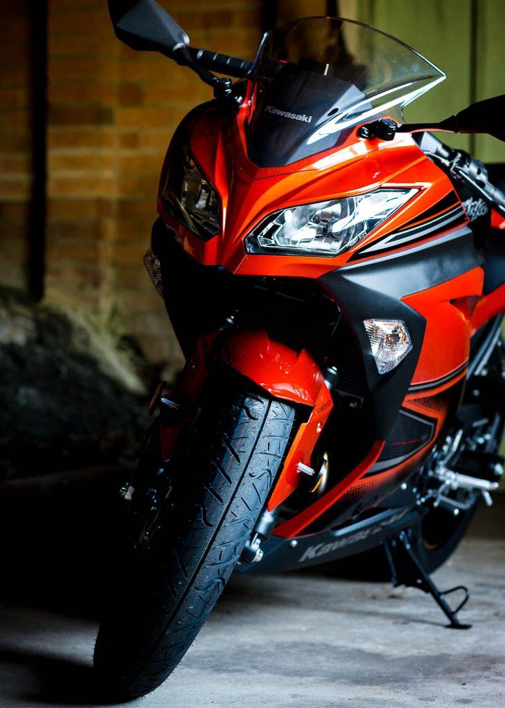 Kawasaki Ninja 300 Candy Burnt Orange, soon ❤❤❤