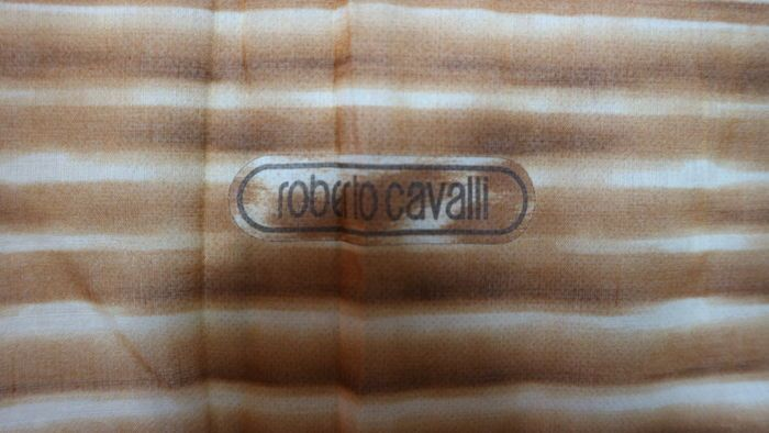 Roberto Cavalli - stola gigante copri costume MADE I ITALY