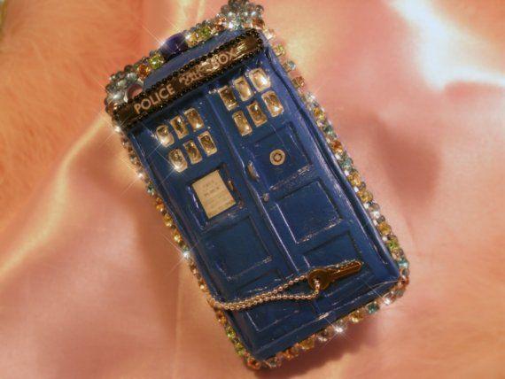 TARDIS decoden iPhone case!: Iphone Cases, Tardis Iphone, Cellphone Cases, Cell Cases, Phones Cases, Decoden Iphone, Ipod Iphone Diy, Tardis Decoden, Tardis Phones