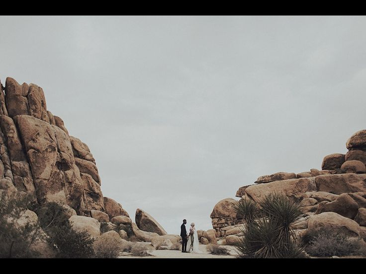 """{    MODERN MEETS MEXICO AT THIS JOSHUA TREE WEDDING    }  """"Taking cues from the groom's home country of Panama, this wedding in the desert of Joshua Tree was filled with what can be described as 'Modern Meets Mexico'. Bailey + Josué met right before she moved to Mexico — to be a caregiver + foster parent at an orphanage there (you go, girl!). So it fit that they would incorporate so many elements of Mexico into their desert wedding."""""""