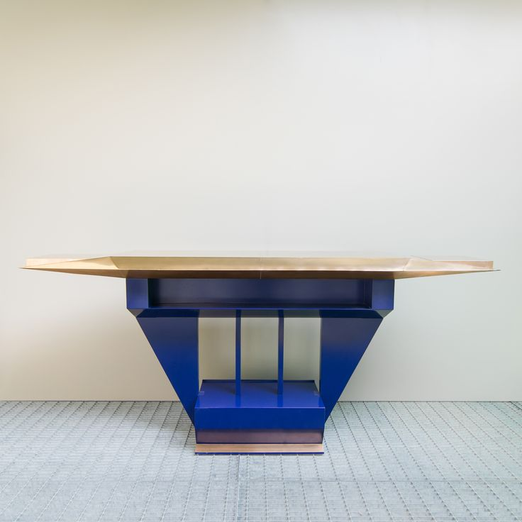 Ilias Lefas, Mommsenstrasse Sound System table, 2015 #plusdesign Photo by Francesca Iovene