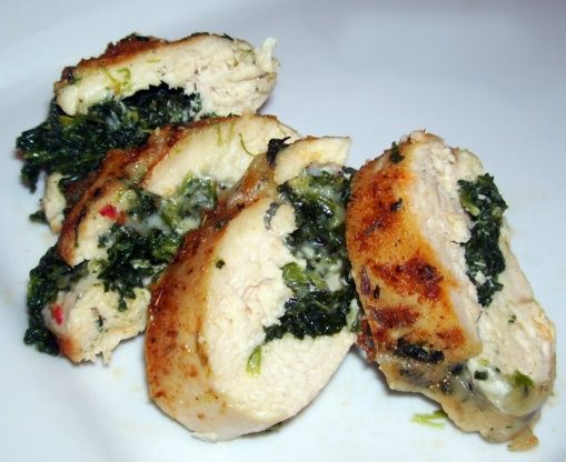 Cajun Chicken Stuffed With Pepper Jack Cheese And Spinach Recipe - Food.com