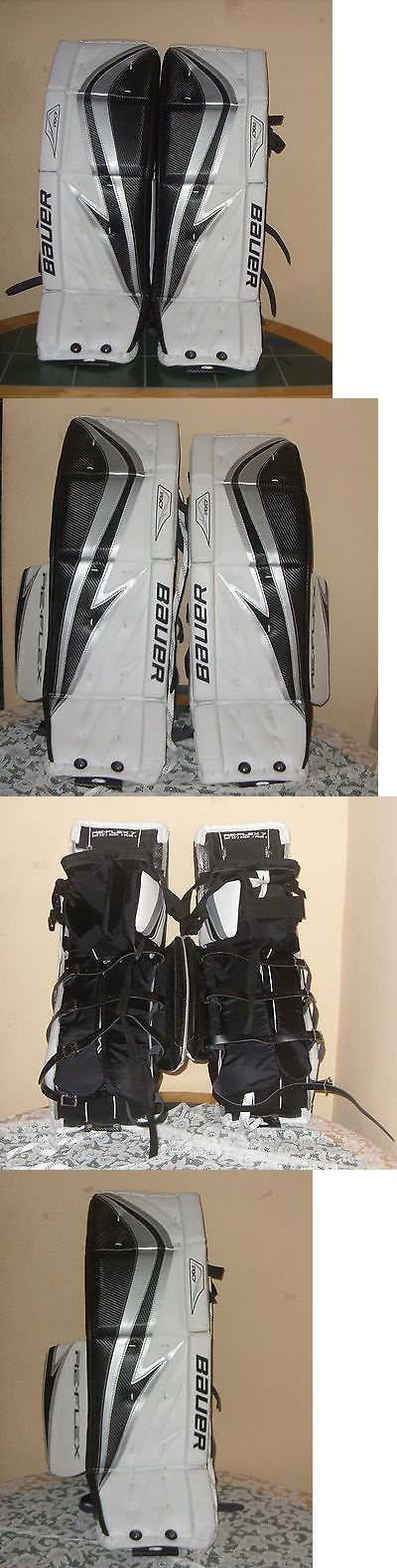 Leg Pads 79764: Bauer Rx7 Re-Flex Goalie Pad Int. 32 81Cm Ice Hockey Goalie Pads -> BUY IT NOW ONLY: $599.99 on eBay!
