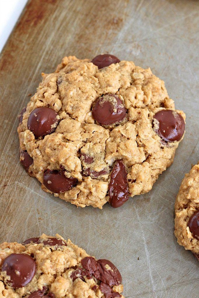 Flourless Oatmeal Chocolate Chip Cookies Recipe Food Pinterest