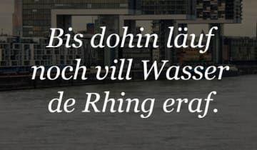 18 wundervolle Sätze, die Du nur kennst, wenn Du in Köln aufgewachsen bist