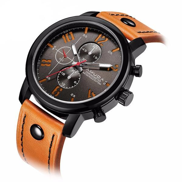 @thetieguys Watches not only keep you on time so you don't miss that special dinner, they designate the event by style. Quartz watches for men are synonymous with quality a