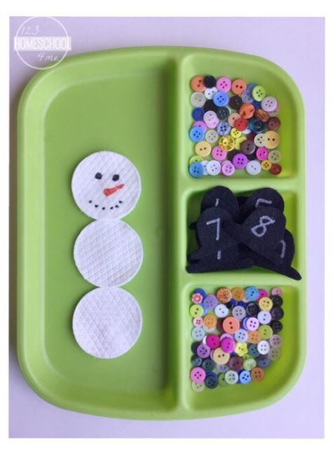 Super cute sensory, number sense and fine motor activity that kids will love!