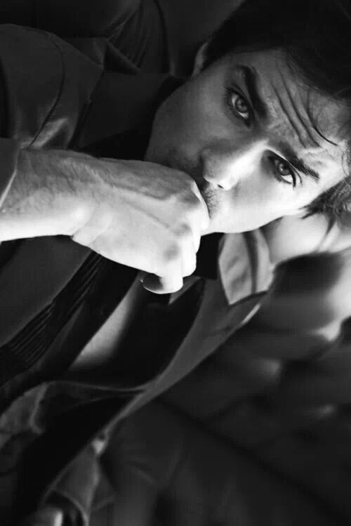 Ian Somerhalder, those eyes though #todiefor haha! #vampirejoke