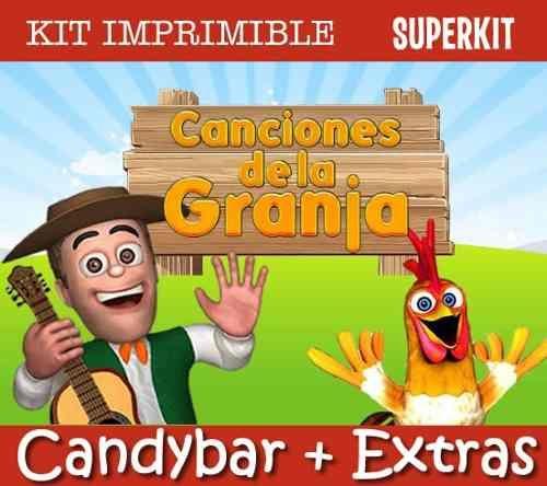 Animales De Canciones De La Granja, ... Para La Torta, - $ 34,99