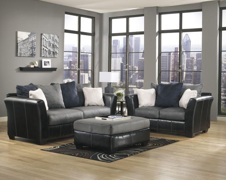 masoli cobblestone stationary living room group by benchcraft