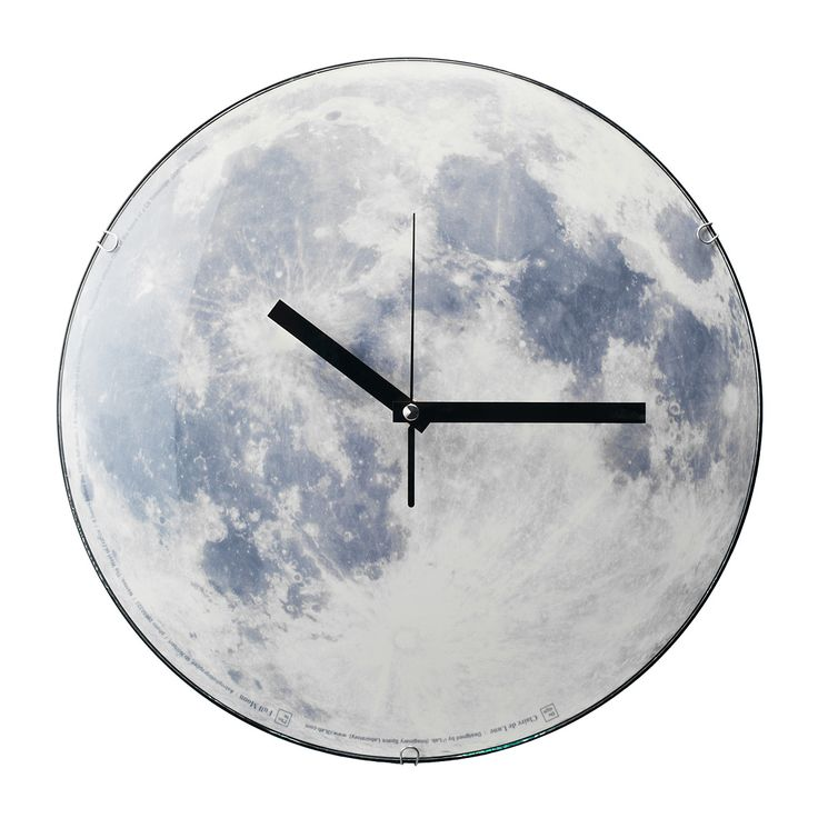 MOON CLOCK | Glowing Lunar Clock | UncommonGoods