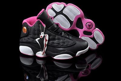 Genuine Nike Air Jordan 13 Retro Cheap sale GS White Pink
