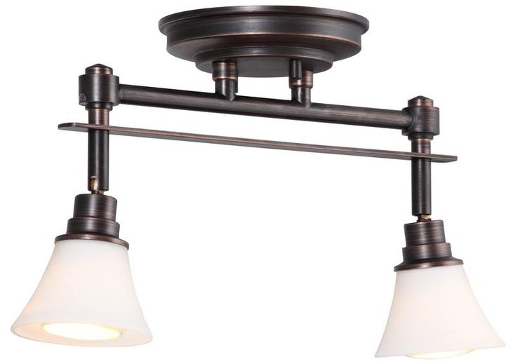 DVP8382ORB-OP Richmond 2 Lt track Oil Rubbed Bronze