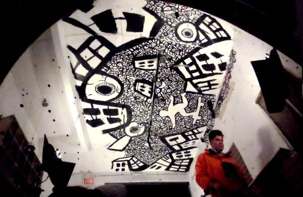 graffiti ceiling - Google Search | Sky perspective ...