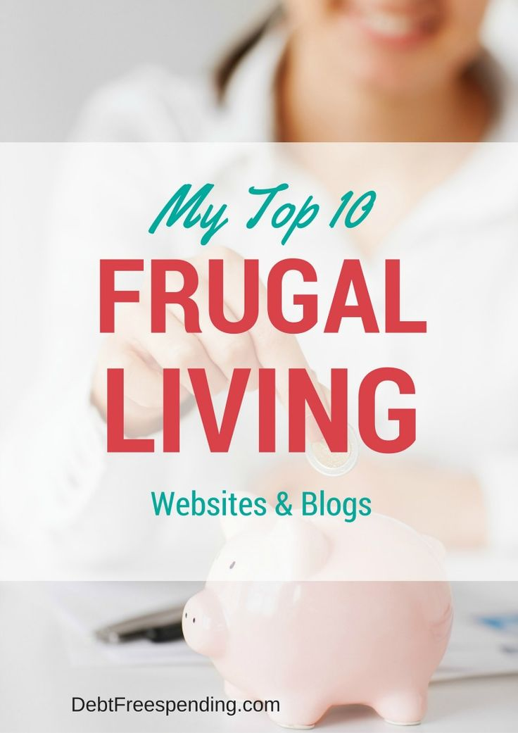 Check out our favorite frugal living websites and blogs!