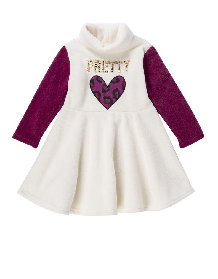 Fleece Skater Dress