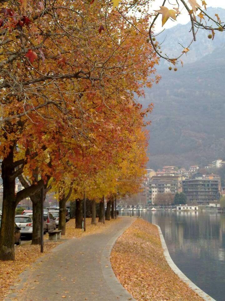OMEGNA - Lago d'Orta - Italy.