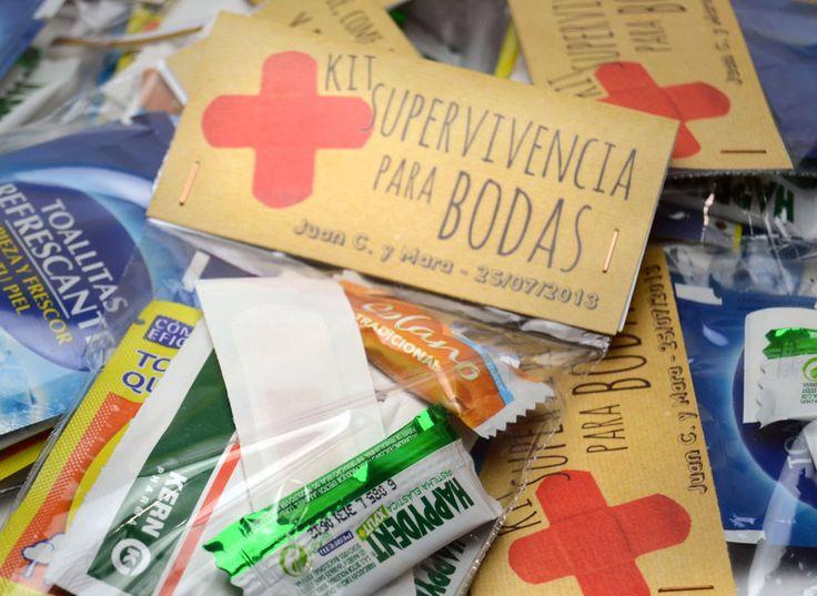 Kit de Supervivencia para Bodas