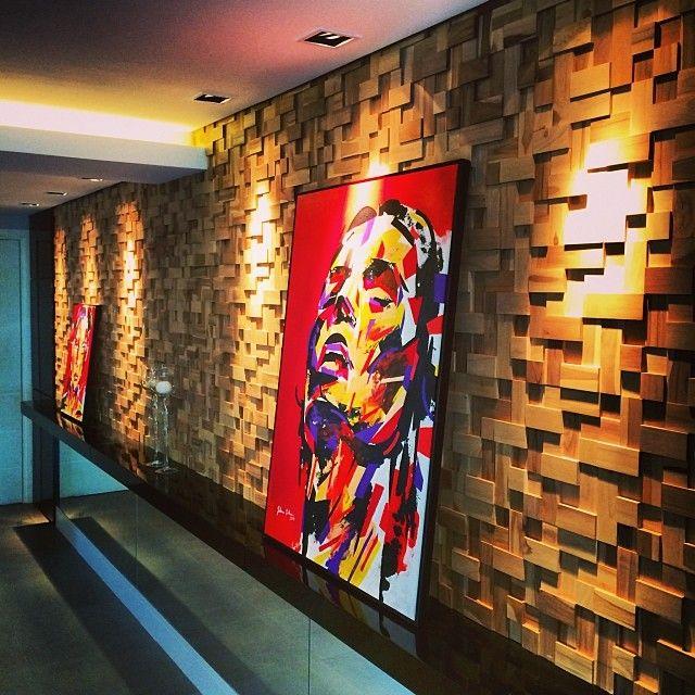 Art, Oca Brasil, Tamara Rodriguez Arquitetura, revestimento, decor, home