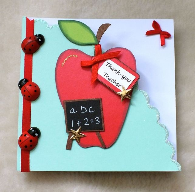 120 best images about thank you teacher on pinterest for Thank you crafts for teachers