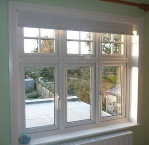 Install double glazing on desk side windows (Link irrelevant)