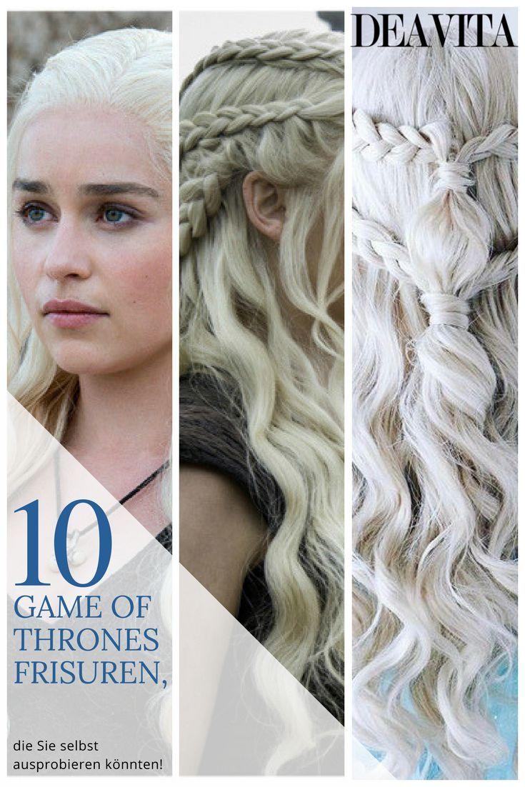 Sie Stehen Total Auf Game Of Thrones Frisuren Khaleesi