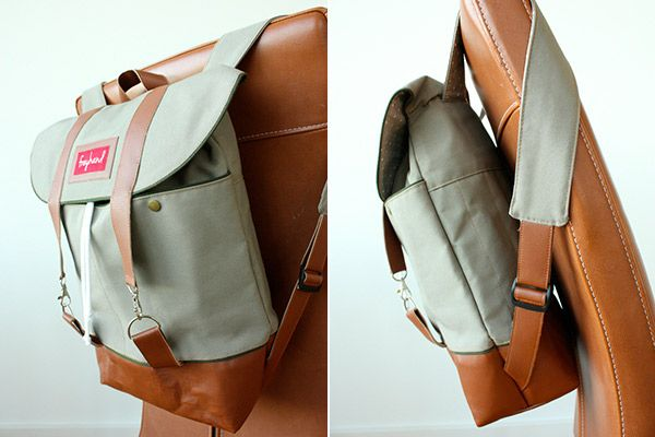 "Rucksack ""Pakke"" genäht von freyhand: http://de.dawanda.com/product/92355975-schnittmuster-rucksack-pakke-pdf-ebook"
