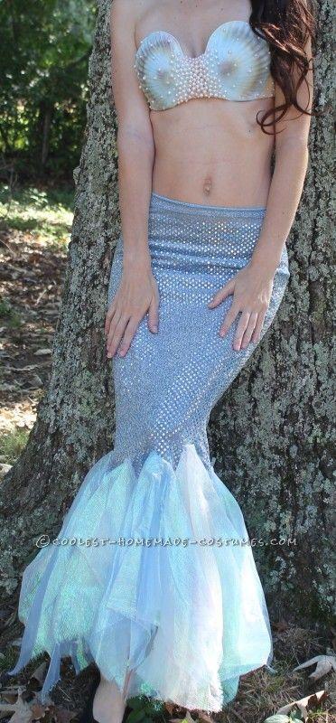 Sensual Homemade Mermaid Costume...