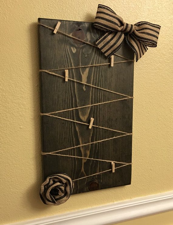 Pallet Picture Frames With Twine