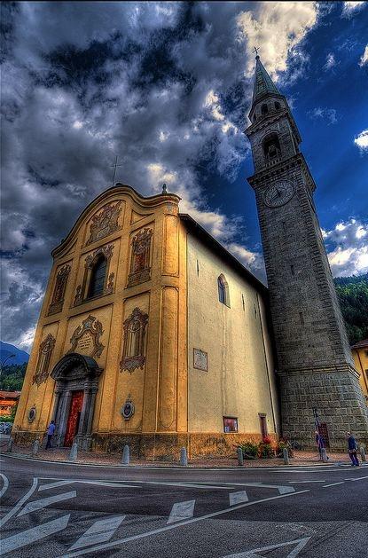 church in Pinzolo, Trentino-Alto Adige