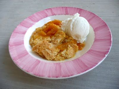 I love peach cobbler, and this recipe is about as simple as it gets!It is great for a dessert in a crunch!here's the recipe:PEACH COBBLER2 cans peach pie filling1 box yellow cake mix1/2 cup butter1. Preheat oven to 350 F2. Pour 2 cans peach pie filling into 9×13 pan3. Evenly dump yellow cake mix over …