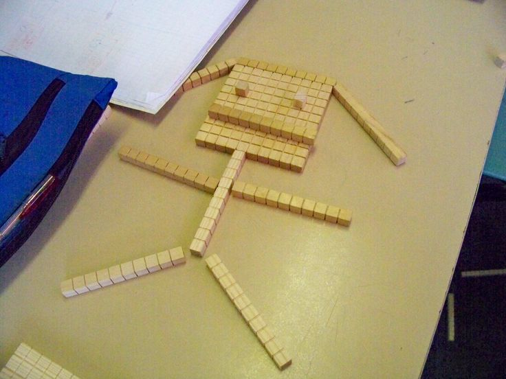Fun with Place Value: Base-10 Block Sculptures www.toptenresources.com - a full year of math lessons created by teachers 4 teachers