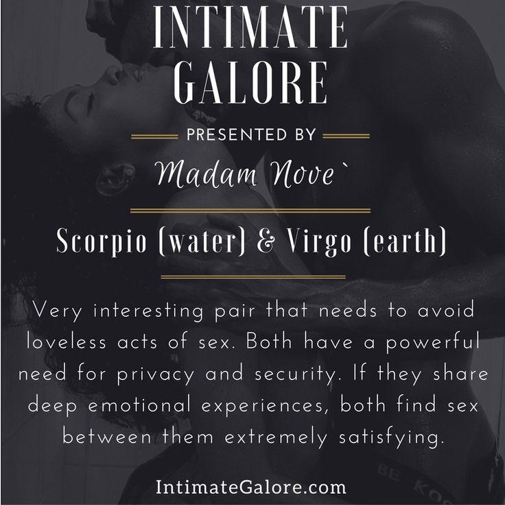 Scorpio and virgo sexuality