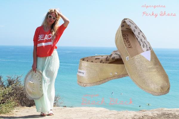 espadrilles Perky shoes. photo: beach black