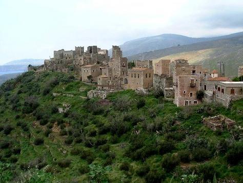 Vatheia Photo - Peloponnese, Greece