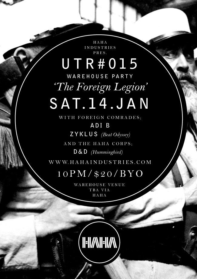 UTR #015 with D&D, Adi B and Zyklus