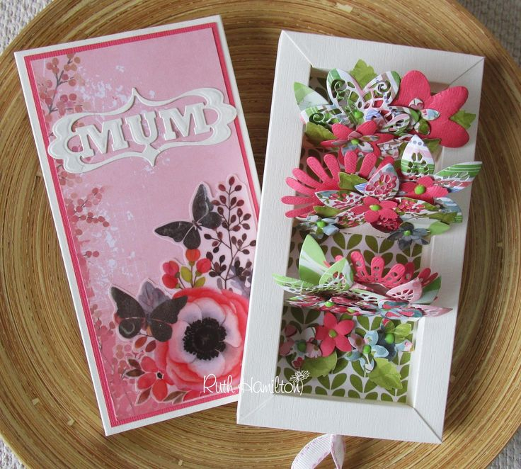 Hello:) I've used the new Tonic Studios Shadow Box dies with a little twist to make a pop up card/box. The flowers were all made with ...