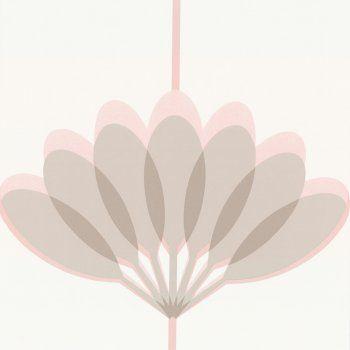 Buy Caselio Kira Wallpaper Pink / Grey / Beige