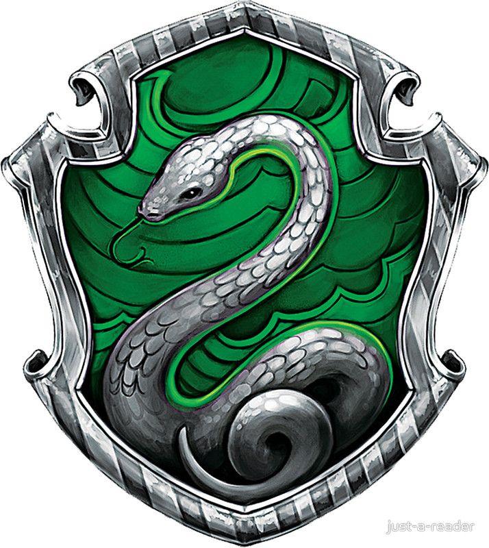 Slytherin Logo imagens) Sonserina, Slytherin, Harry