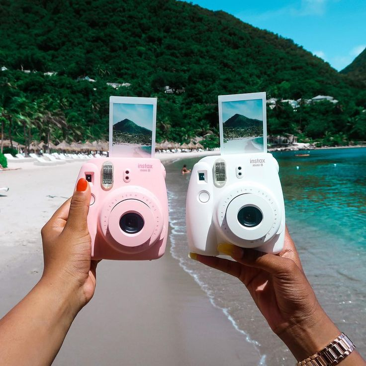 Met zo'n Instax foto is het haast net alsof je weer even op vakantie bent. #HEMA #vakantie #zomer #Instax